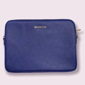 Classy Michael Kors Blue Laptop or Tablet Case NWOT